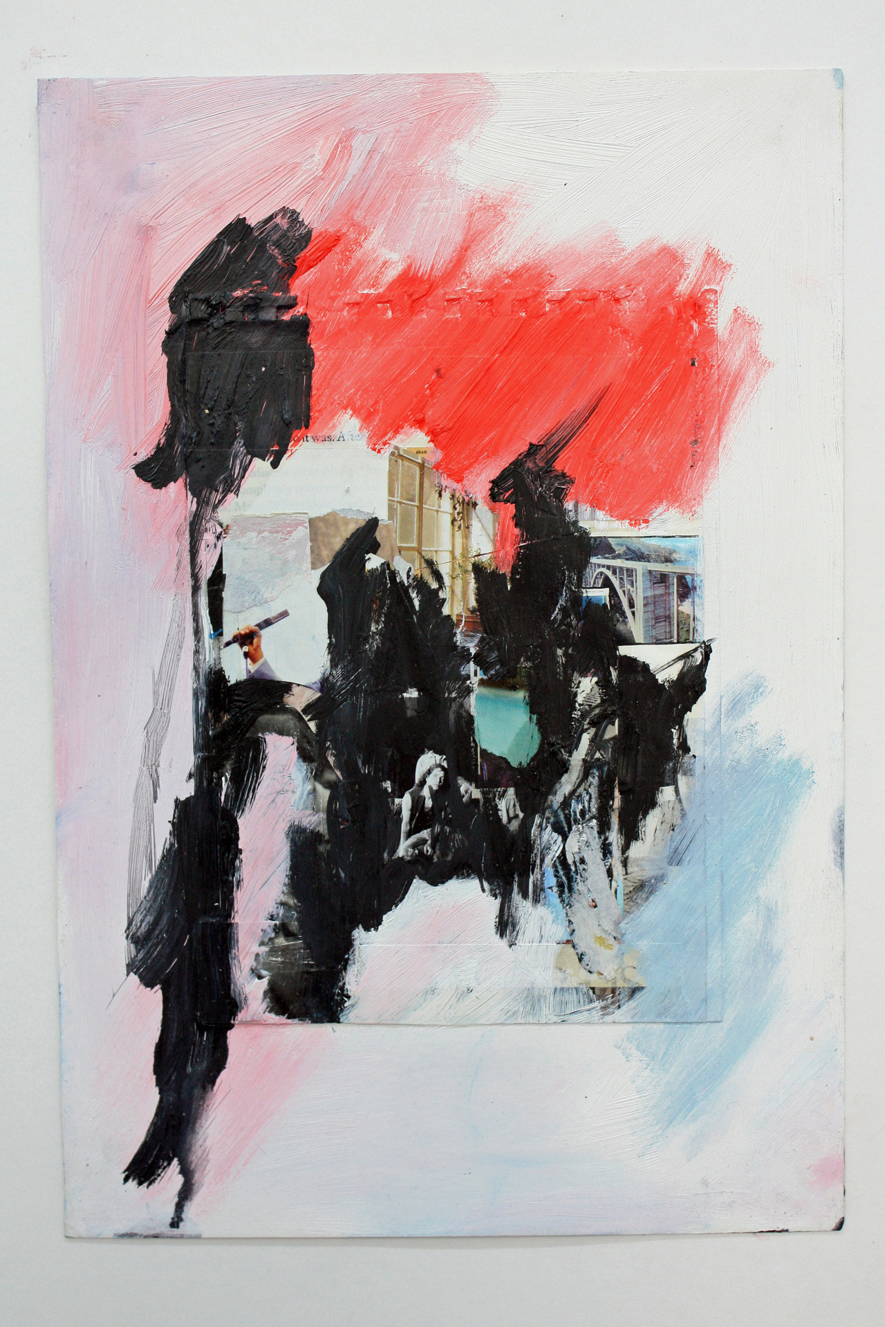 greensacredlode:  Mixed media on paper 2012 Olivia Foster, 18, London