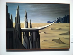 kay sage :: danger, construction ahead, 1940