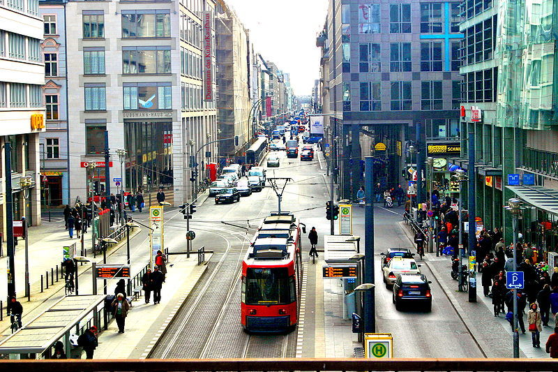 "Friedrichstrasse- the ""Fifth Avenue"" of Berlin Source: http://www.skyscrapercity.com/showthread.php?t=687010&page=8 (Urban Architecture)"