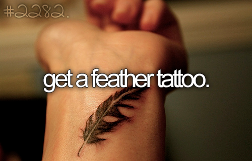 Feather and an Anchor…