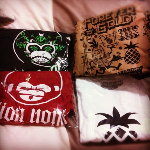 #febphotoaday got #SomethingNew in the mail this week! Got @MillionMonkeyCC & @forevergoldnick SWEET! (Taken with instagram)