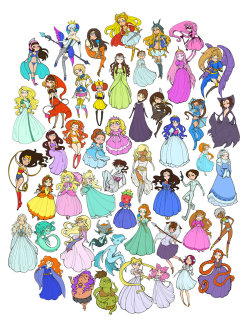 """50 Princesses"" by Jayne Steiger"