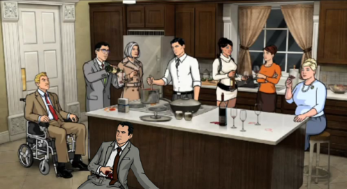 Come join our 'Archer' Open Thread and leave questions for Art Director (and voice of Brett Buckley) Neal Holman