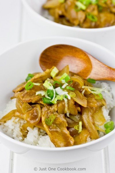thefoodhabit:  Dinner: Japanese Pork Curry + White Rice Recipe @ Just One Cookbook