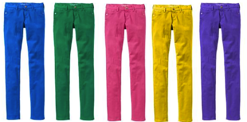The Rock Star Colored Super Skinny Jeans Old Navy - $32.50