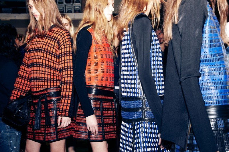 I am in love with Proenza Schouler.   Photos via Self Service Mag.