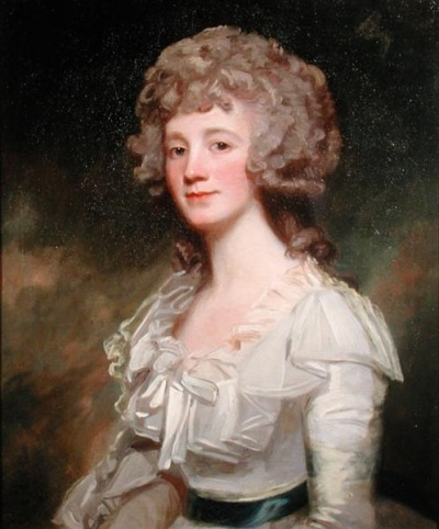 Miss Elizabeth Murray by George Romney, 1780s
