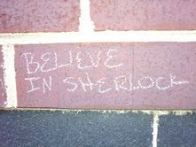 saw this outside one of my buildings on campus on my way to class. Glad to know there are others out there who share my love for Sherlock