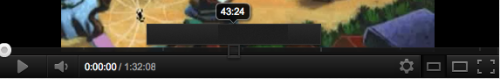 Youtube- When watching a video exceeding one hour, scrolling over the timeline will give you a magnification of the 2 minute timeframe.  /via chrisweedboygenius