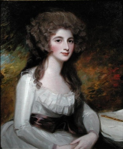 Sarah Tickell by Romney, 1785