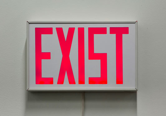 artissuffering:  Exist (2009) by Kelly Mark