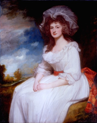 Anne Rodbard, Mrs. Blackburne by Romney, c. 1787-88