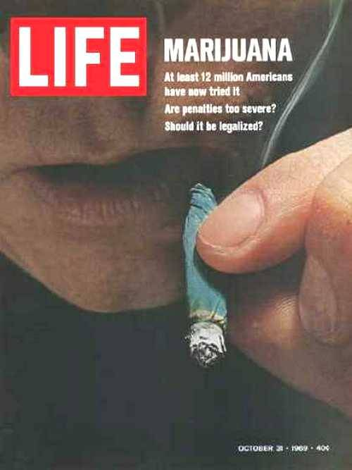 theswingingsixties:  Marijuana… Life magazine, October 1969.