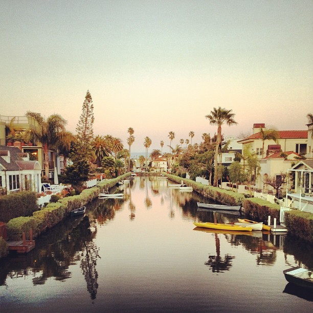 quickandcurious:  Venice canals (Taken with instagram)