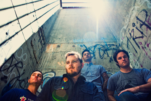 Thrice. This photo was taken during our session for the band's latest record, Major/Minor, on Vagrant Records. This is one of the locations we never ended up using for the record.