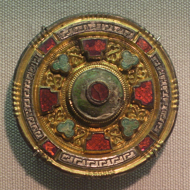 Kentish Brooch, Dover Museum by Thorskegga on Flickr.Anglo Saxon brooch from the Dover Museum, Kent, England.