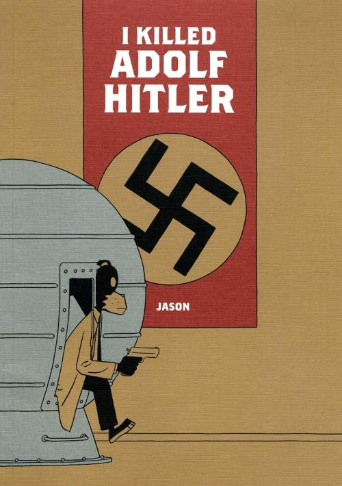 brain-food:  Jason's 'I Killed Adolf Hitler' is getting optioned for a movie. The only way i'll be extremely happy about this is if it's animated. It has to be animated. Please be animated.   In I KILLED ADOLF HITLER, a hitman goes back in time to kill Adolf Hitler…but he messes up and Hitler comes forward in time, a mistake the hitman must rectify. Complicating factor: the time machine needs 50 years to charge up. There's no need to say any more — at 50 pages the tale is short yet packs several lifetimes of story. It unfolds both as you expect and then as you never would with a last page that either will break your heart or leave you sitting on a park bench staring into the sky wishing you could go back in time and fix that one thing. (via comicsbeat)