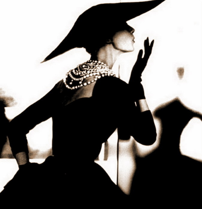 "Barbara Mullen, Blowing Kiss, 1950Lillian Bassman, 1917-2012  ""In her youth she reportedly danced with Martha Graham, posed nude at the Art Students League and, with Himmel, spent many hours at the Metropolitan Museum of Art, where she studied the great painters and began to formulate her distinctive vision and style. El Greco was a favorite.  She studied fabric design at a vocational school and became a painter and graphic designer. Eventually she met Alexey Brodovitch, the art director of Harper's Bazaar, and enrolled in his design lab class. Brodovitch invited her to join him as his assistant at Harper's. In 1945, when Junior Bazaar debuted, she became co-art director with Brodovitch.""  One of my favorite photographers of all time, the effortless elegance of her work was just breathtaking. RIP Lillian."