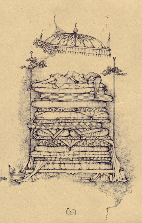 teachingliteracy:  the princess and the pea. curlyann