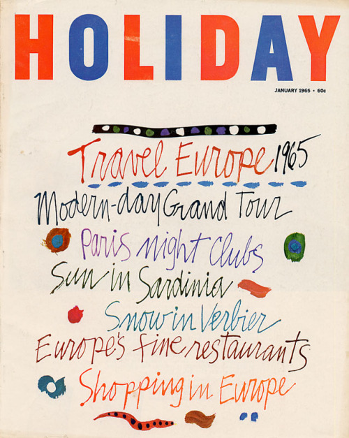 Holiday Magazine 1965