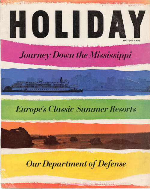 Holiday Magazine 1963
