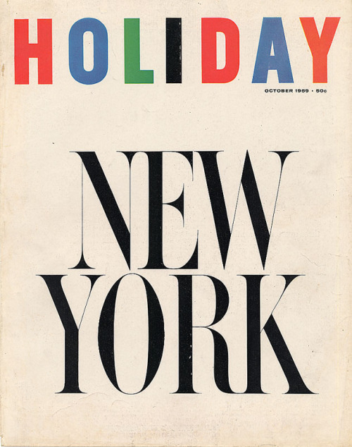 Holiday Magazine 1959