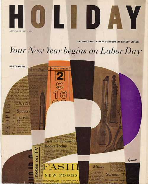 Holiday Magazine 1957
