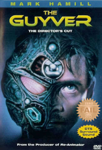 "Guyver (1991) A young man discovers a mechanical device that merges with his own body, turning him into a cyborg superhero. When strange creatures start appearing, trying to take the device back, he begins to uncover a secret plot to genetically engineer terrifying monsters. Based on a Japanese comic book known as ""Bio-Booster Armor Guyver"". Mighty Morphin' costumes and cheesy shit… with crap 80s humor and comedic sound effects - i knew i've seen this dribble before. A cheesy sci-fi FAIL. What a tragedy. The quality was for UHF television… The ""fights"" were as bad as the acting, absolutely horrendous. Hey! it's Luke Skywalker Mark Hamill - that's about it. A mediocre film with no saving grace… wait the guyver costume was sorta true to the original comic. I would like to THANK MY COUSIN FOR GIVING ME THIS SHIT. Another one to add to the ""avoid"" list.  ""The Guyver"" = way to go America! it's GUYVER. I was put off by the ""comedy"" elements… Tacky and lame.  This was fucking stupid."