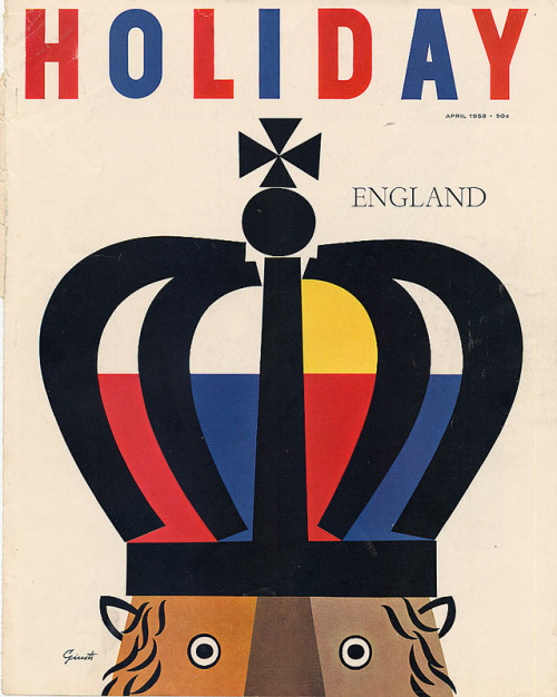 Holiday Magazine 1958
