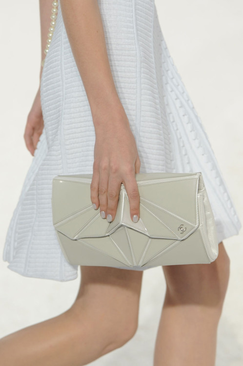 dixias:  Detail at Chanel Spring 2012