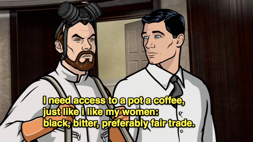 weallfellinthepit:  Krieger is the best character on Archer.