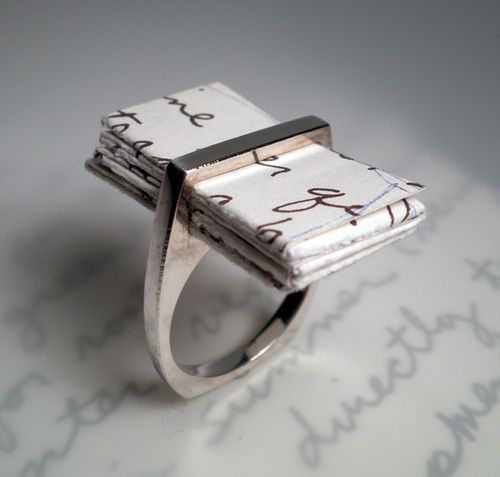 amandaonwriting:  Written in a ring