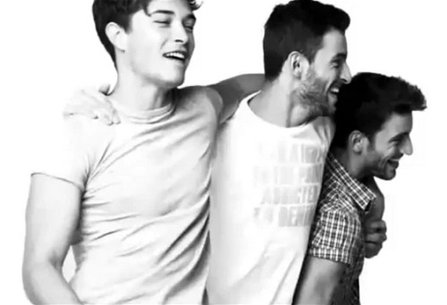 Francisco Lachowski and the Sampaio Twins for Big Star Jeans.