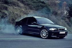 bimmers:  BMW M3 (E46) burnout