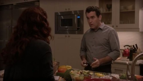 Oh, Brian D'arcy James, stop cooking and sing something!