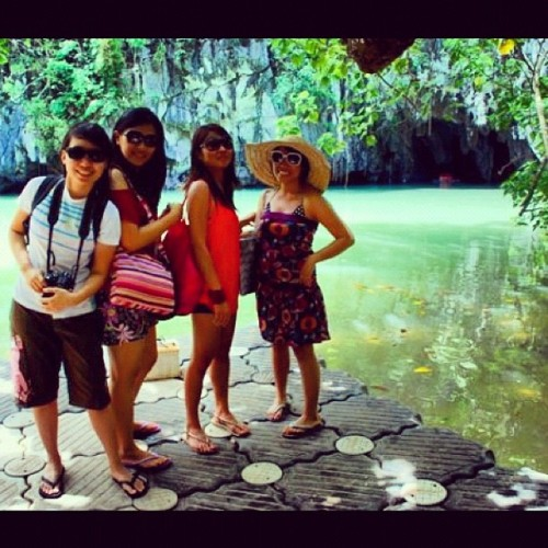 Underground River, Palawan, Philippines  #mytravel #palawan #undergroundriver #7wondersoftheworld #philippines #itsmorefuninthephilippines #fabgirls #friends #girlfriends  (Taken with instagram)