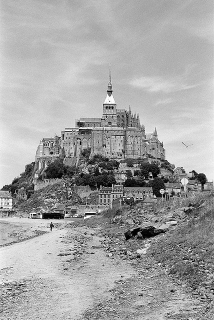 Mont Saint Michel by inaudible on Flickr.