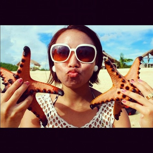 don't you just love these starfish?  #mytravel #palawan #starfishisland #starfish  (Taken with instagram)