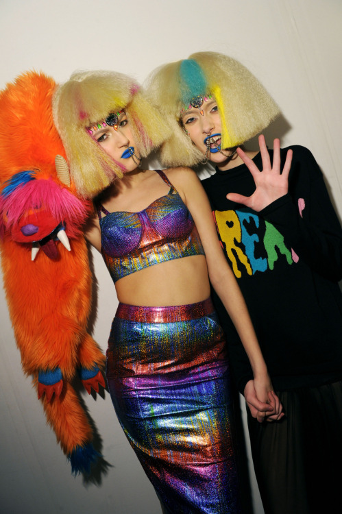 NYFW Inverno 2012 Backstage Jeremy Scott Foto: Getty Images