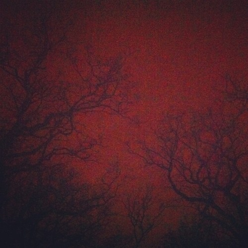 #truenorwegianblackmetalsky (Taken with Instagram at Nantes, FR)