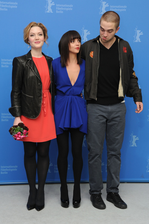 Robert Pattinson, Holliday Granger & Christina Ricci / Bel Ami Press Conference, Berlin