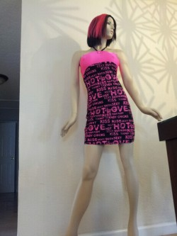 My new mannequin!!! Would it be extremely weird to name her? If not…I'm naming her Nicole :-)