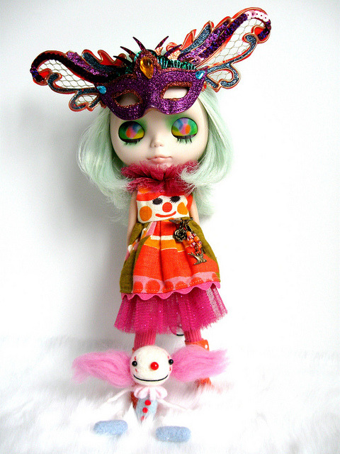 Clowning around by mademoiselleblythe on Flickr.#Carnaval2012