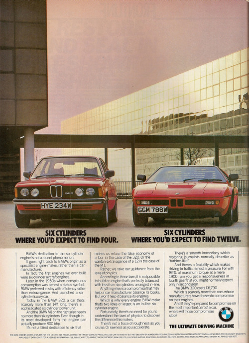 process-vision:  1981 BMW 320 E21 and BMW M1