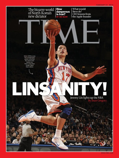 This week's international edition features a Jeremy Lin cover that's special to certain parts of Asia, while the rest of Asia, the South Pacific, Europe and Africa will see Kim Jong Un on the cover.  Inside both editions is a great piece on the lost Libyan revolution, more news from Syria, the cover story on Kim Jong Un and our feature on Jeremy Lin, which is also inside this week's U.S. edition.