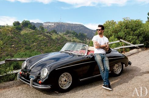 brother3hood:  Adam Levine's Hollywood Hills Home the Maroon 5 front Man's California pad combines midcentury sophistication with a shot of bachelor attitude …(architectural digest)