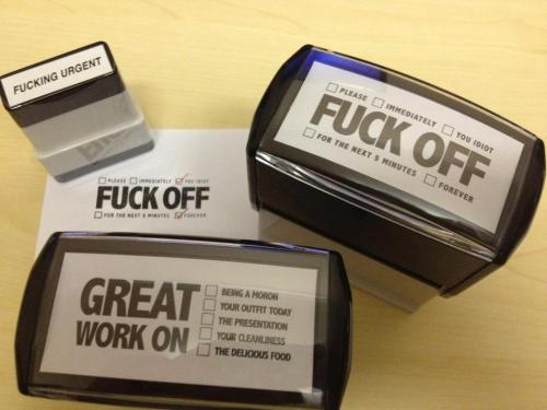 Corinne-style Office Stamps ;)