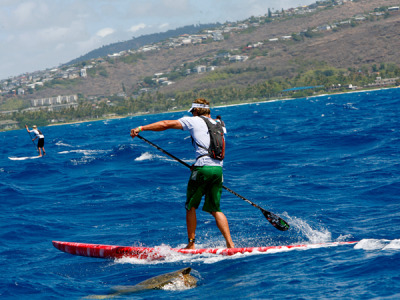 Quiksilver Waterman's Hoe, Hawaii See more in our Ten Great Races gallery When: May 5 to 6 Think of it as crashing the World Series: Stand-up paddleboarding is still so new that even amateurs can race in one of the sport's biggest competitions, the Quiksilver Waterman's Hoe. Held on Oahu's Duke Kahanamoku Beach, a wide swath of white sand with a reef break that calms swells, the event attracts competitors from as far as New Zealand, Australia, South Africa, and Brazil. This year, the races will swell to more than a thousand competitors in stand-up and prone paddleboarding, as well as one-man and six-man outrigger canoe races. Ten-time world paddleboard champion Jamie Mitchell (a 2011 National Geographic Adventurer of the Year) is on board to design the courses for relay, sprint, and distance races, and all manner of enthusiasts are welcome, from elites to landlubbers. Meanwhile, families can tackle the family relay or take on races designed for tots. Though spectators from nearby Waikiki hotels gather to watch, the vibe remains decidedly mellow, with live music and picnics on the beach. For visitors, it's an immersion in what Hawaii does best: ocean sports, sun, and the simple art of kicking back. Get Planning: Entry fee to race $150 (elite racers) and under Photograph by Chase Olivieri, Quiksilver Waterman's Hoe