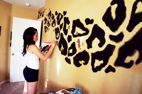 DIY Leopard Paint!