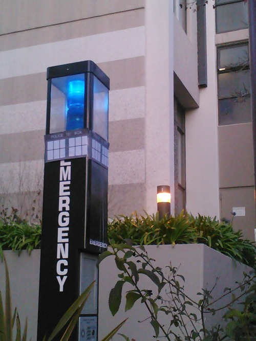 #my school is casually awesome #doctor who reference outside of my dorm nbd it's normal